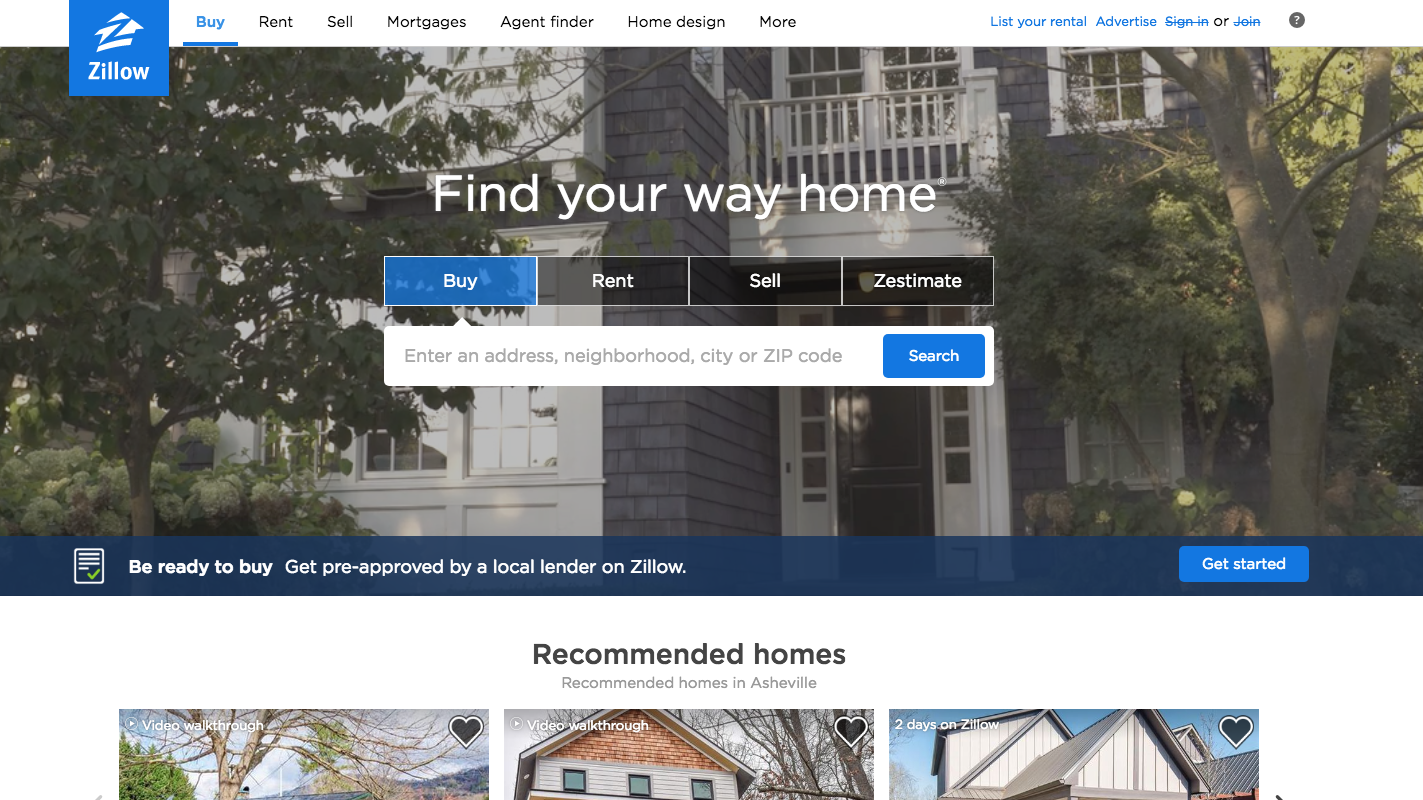 The Internet (Zillow) Of Real Estate